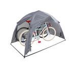 愛車のためにテントを立てよう! 2台収納可能なワンタッチ式自転車用テント