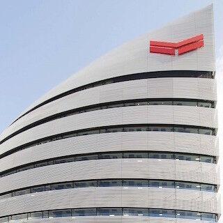 「都市、大地、海」をテーマにデザインされたヤンマー新本社ビルが完成