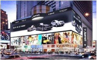 三菱電機、NYタイムズスクエアに4Kオーロラビジョンを納入