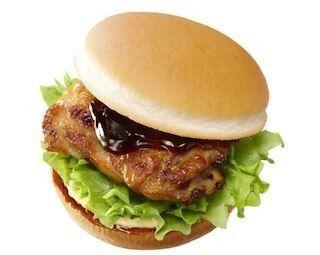 ロッテリア、てりやきソースの「炭焼きグリルチキンバーガー」を発売