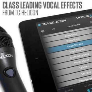 TC-Helicon、iPad向けのルーパー/エフェクト/レコーターアプリを発売