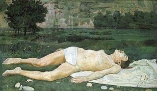 兵庫県神戸市の美術館で、スイスの画家「フェルディナント・ホドラー展」