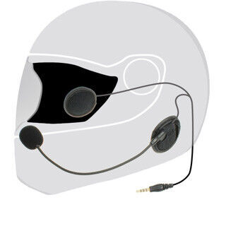 上海問屋、ヘルメット用のマジックテープ式ステレオヘッドセット