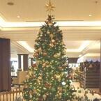 千葉県・舞浜「シェラトン・グランデ」、クリスマスモードに