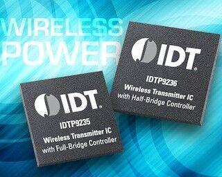 IDT、電磁誘導ワイヤレス給電トランスミッタの新ファミリを発表