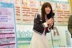 TVアニメ『結城友奈は勇者である』、照井春佳が秋葉原で体験版DVD-ROM配布