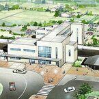 岩手県八幡平市、JR花輪線大更駅駅舎改良工事に着手 - 2018年春供用開始へ