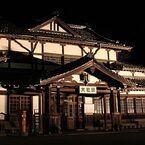 島根県出雲市とJR西日本、旧大社駅舎のライトアップを開始 - 12/7まで実施
