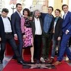 『ホビット』ピーター・ジャクソン監督、ハリウッド殿堂入り!キャストも集結