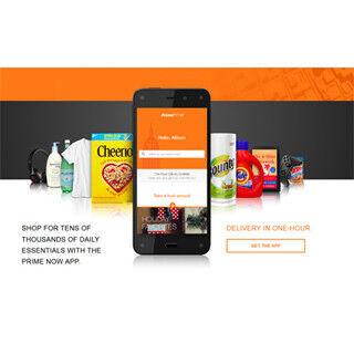 米Amazon、1時間以内の商品速配サービス「Prime Now」を発表