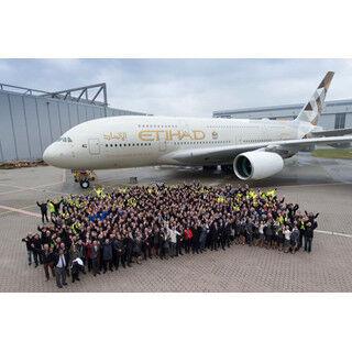エティハド航空が13社目のA380運航会社に - 年内にロンドン線へ投入