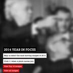 ゲッティ、2014年の印象的な写真を収めた「Year In Focus 2014」を公開