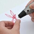サンコー、ペン型の3Dプリンター - 樹脂の押し出しスピードは6段階