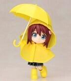 『キューポッシュえくすとら』第3弾は、着せ替えて遊べる「雨の日セット」