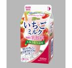 雪印メグミルク、手作り風味の「いちごミルク」発売