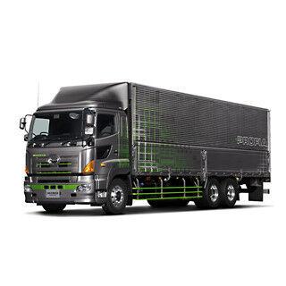 日野、東京オートサロンで「カッコ良いCOOLなトラック」を提案