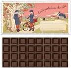 切手を貼って送れるチョコ発売 - メリーチョコレート