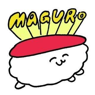 東京都・渋谷で若手作家の寿司グッズ販売-スーツケースを寿司にする商品も