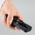 エレコム、マウス機能でPowerPointをコントロール可能なレーザーポインタ