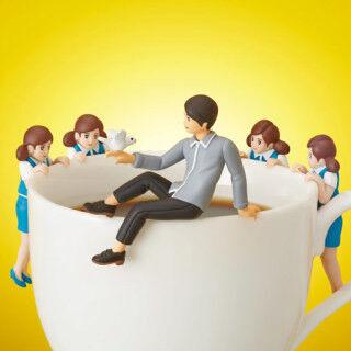 コップのフチ子×内田篤人選手=フチ田篤人!? - コラボキャンペーンを展開