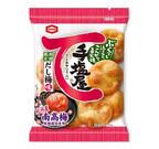 亀田製菓、紀州産南高梅使用の「手塩屋ミニ だし梅味」を発売