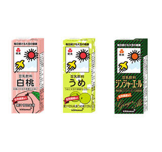 キッコーマン飲料、豆乳飲料や飲むシリアルの新フレーバー5種を発売