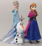 『アナと雪の女王』女性向けフィギュアを展開、アナやエルサなど続々立体化