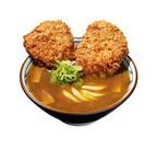 丸亀製麺、特大ロースカツを2枚乗せた「Wカツカレーうどん」発売