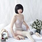 東京都・恵比寿で両足義足のアーティスト・片山真理が新作を発表する初個展