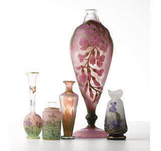 東京都・銀座でアール・ヌーヴォーを代表するドーム兄弟のガラス作品を展示