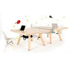 職場で2台並べると卓球ができる! - 「ピンポンワークテーブル」発売