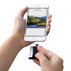 サンディスク、iPhone向けUSBメモリ - ストレージを最大64GB増やせる