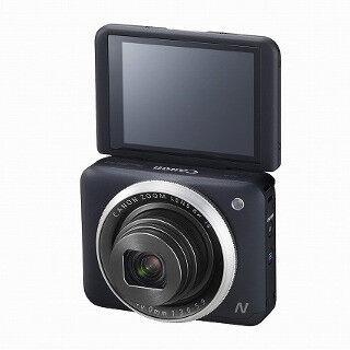 キヤノン、180度チルト液晶搭載の自分撮りコンデジ「PowerShot N2」