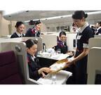 JALのおもてなしは茶道とチームプレイから!? CAたちの国際線移行訓練に潜入