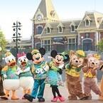 香港ディズニーランドで旧正月イベント開催! ミッキーたちが特別コスで登場