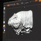 Cintiq 13HDは「アナログ制作に近い感覚で使える」-CGアーティスト・森田悠揮氏が「ZBrush」でのデジタル造形を解説