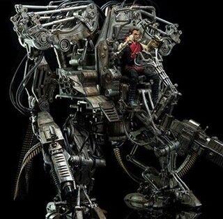 ミフネ船長出撃!『マトリックス』人類最後の兵器APUがまさかの可動フィギュア化