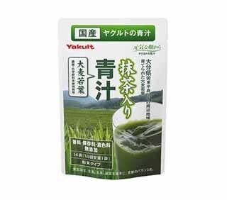 ヤクルト、国産抹茶ブレンドでクセを抑えた「抹茶入り青汁」を発売