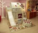 ベッドに滑り台やトンネルも! 子供家具ブランド「FLEXA」の新シリーズ発売