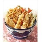 天丼てんや、「桜海老天丼」「純和鶏天丼~黒酢ソース」などを発売