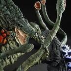 「東宝大怪獣シリーズ」ゴジラ&ビオランテがセットで登場!発光ギミック搭載