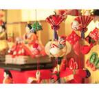 静岡県伊東市の旅館に伊豆の伝統・雛のつるし飾りが登場、飾り作り体験も
