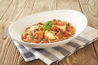 プロントから、1皿でレタス2.5個分の食物繊維入り生パスタが新登場