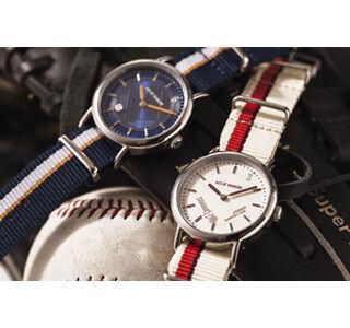 ダイヤのAコラボレーション腕時計発売 - 野球部のユニフォームをイメージ