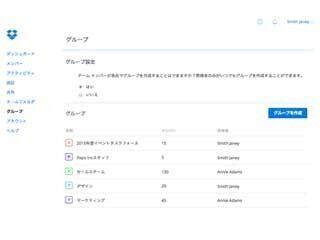 Dropbox、ビジネス向けユーザーにシンプルな管理「グループ機能」提供へ