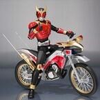 『仮面ライダークウガ』トライチェイサー2000が真骨彫製法クウガに合わせて登場
