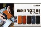 Layblockブランドより、カードポケットを搭載したiPhone 6用牛革ケース