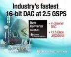 TI、JESD204Bインタフェースをサポートする2.5GSPS 16ビットDACを発表