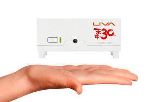 リンクス、一太郎30周年を記念した超小型PC「LIVA」の特別限定モデル