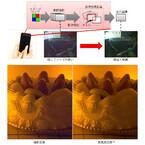 東芝、スマホでも大型センサ並みの画質を実現する「無限高画質」技術開発